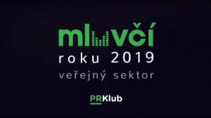 Mluvčí roku 2019 veřejný sektor